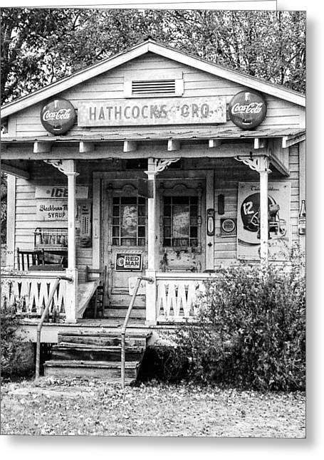 Hathcock's Grocery Greeting Card by Haley Edwards