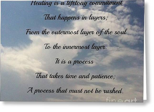 Healing Greeting Card
