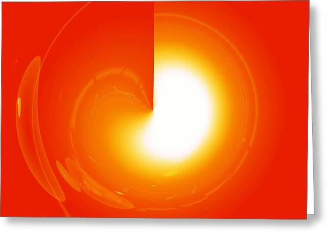 Basis-chakra Greeting Cards - Healing-Door No. 01 Greeting Card by Ramon Labusch