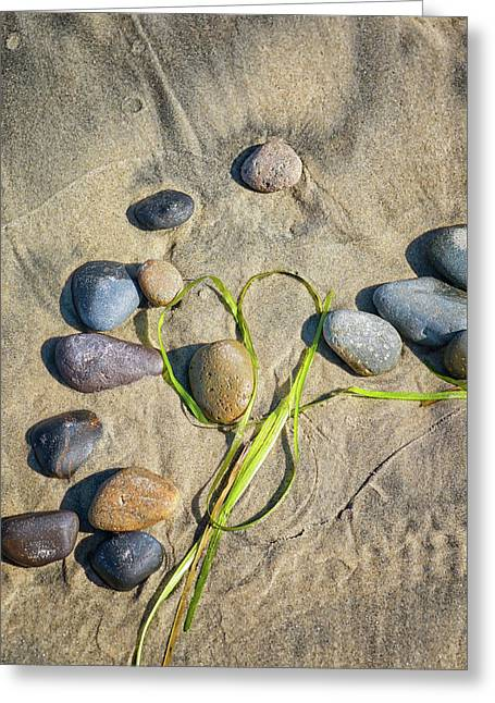 Heart Among The Stones Greeting Card by Joseph S Giacalone