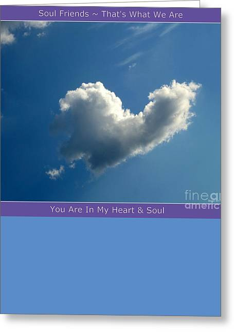 Heart Cloud Sedona Greeting Card by Marlene Rose Besso