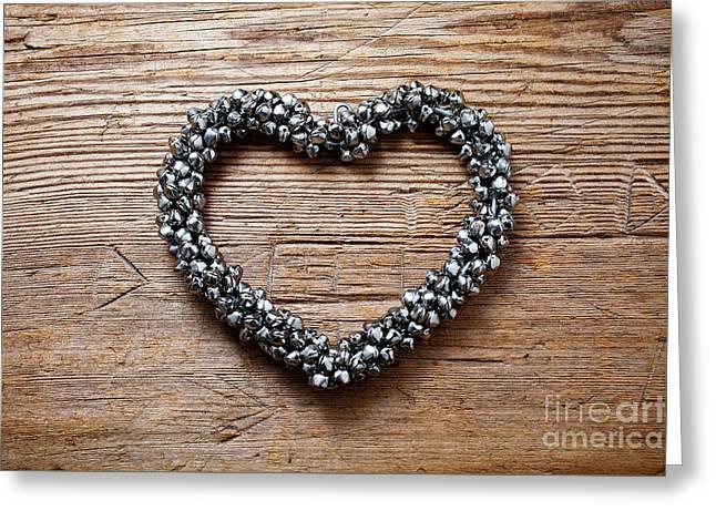 Heart Greeting Card by Kati Molin