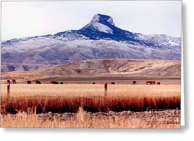Hart Mountain - Cody,  Wyoming Greeting Card