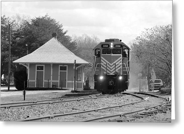 Heath Springs Depot 2.24.2016 Greeting Card