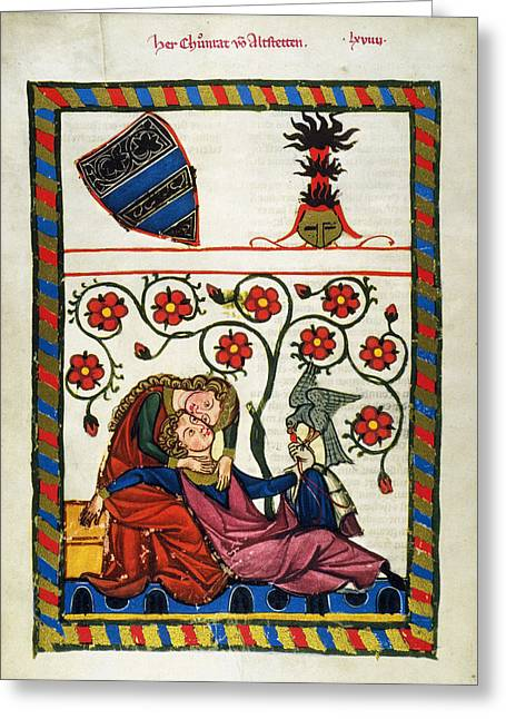Heidelberg Lieder, 14th C Greeting Card
