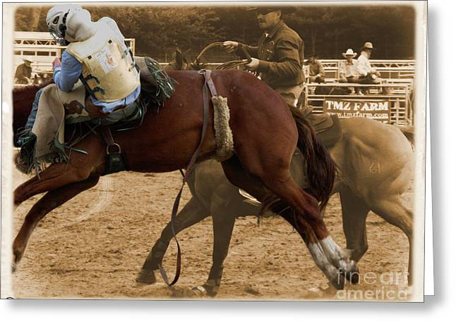 Helluva Rodeo-the Ride 6 Greeting Card