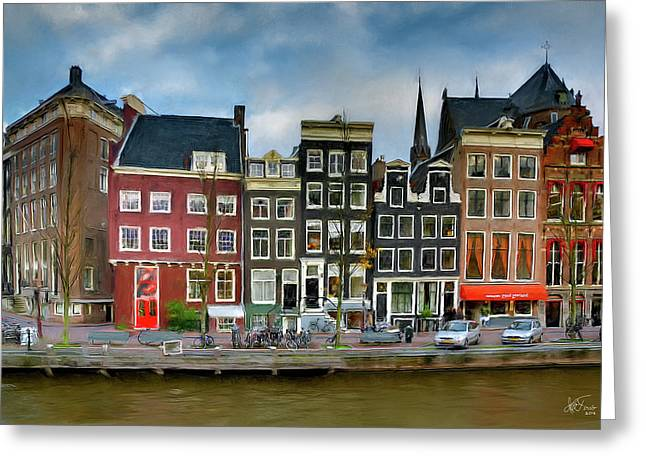 Herengracht 411. Amsterdam Greeting Card