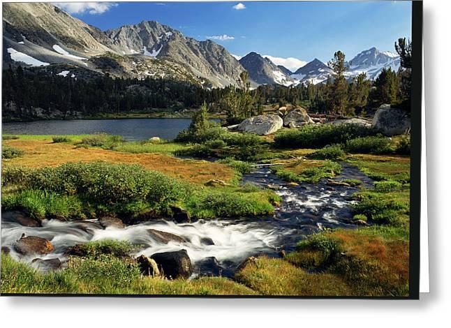 High Sierras Greeting Card