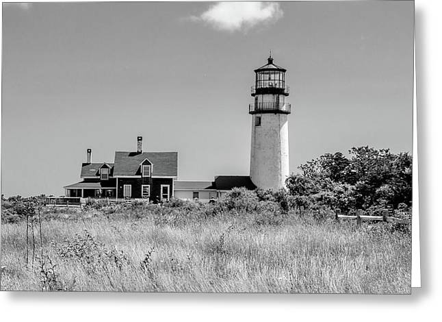 Greeting Card featuring the photograph Highland Light - Cape Cod by Peter Ciro