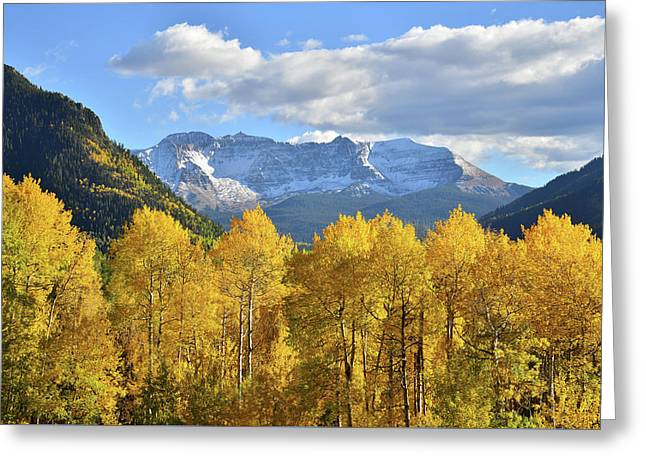 Greeting Card featuring the photograph Highway 145 Colorado by Ray Mathis
