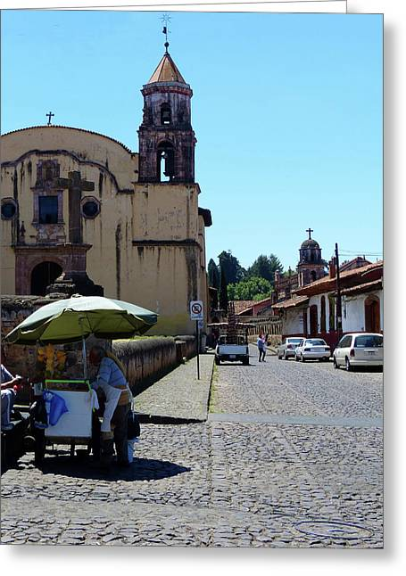 Historic Patzcuaro Greeting Card