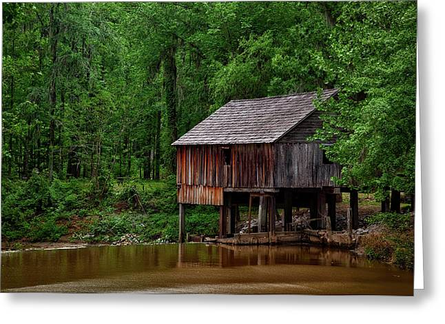 Historic Rikard's Mill - Alabama Greeting Card by Mountain Dreams