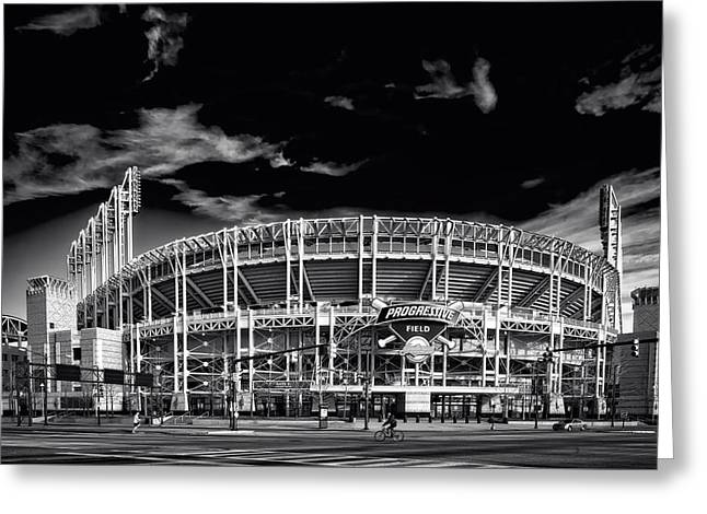 Home Of The Cleveland Indians Greeting Card