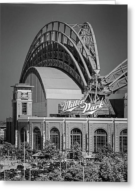 Home Of The Milwaukee Brewers Greeting Card