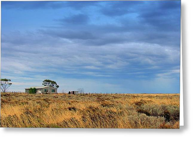 Greeting Card featuring the photograph Homestead by Tim Nichols