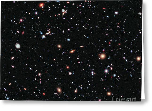 Hubble Extreme Deep Field Greeting Card