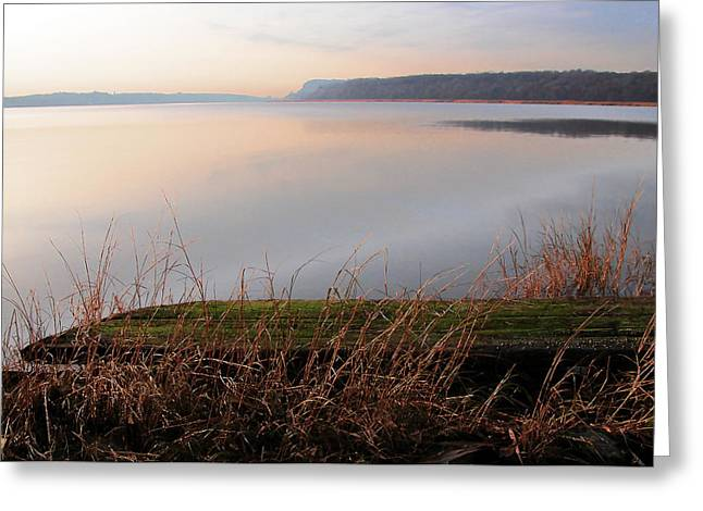 Hudson River Vista Greeting Card