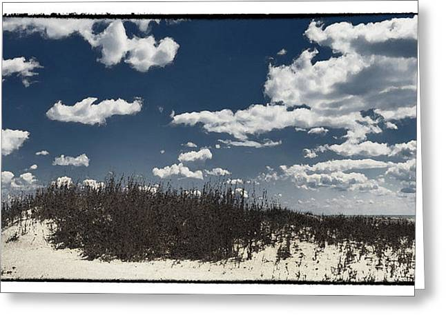 Hunting Island Beach Greeting Card by Robert Fawcett