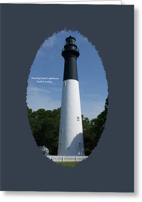 Hunting Island Lighthouse Greeting Card