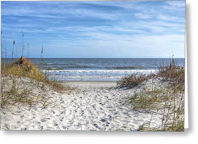 Huntington Beach South Carolina Greeting Card