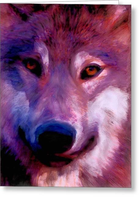 I Am Wolf Clan Greeting Card