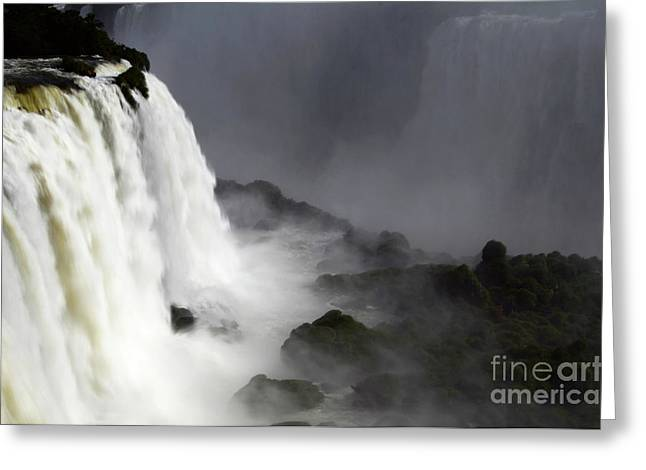 Iguazu Falls South America 15 Greeting Card by Bob Christopher