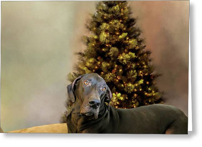 I'll Be Home For Christmas Greeting Card by Theresa Campbell