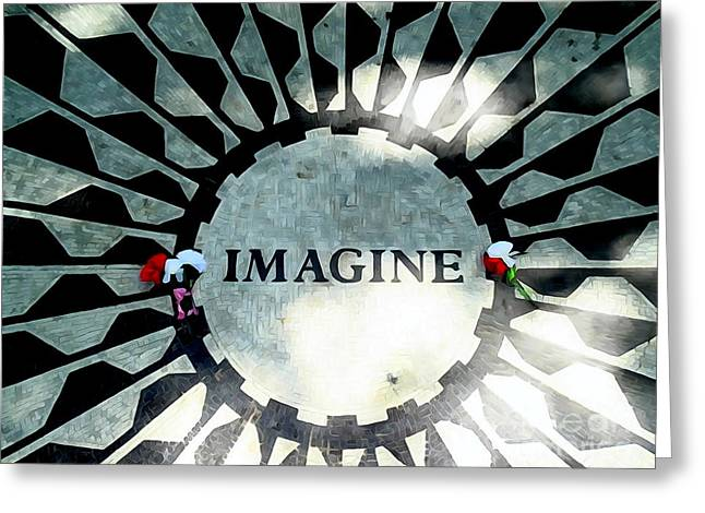 Imagine Greeting Card