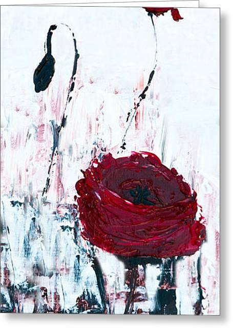 Impressionist Floral B8516 Greeting Card