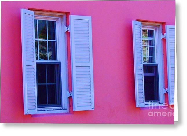 In The Pink Greeting Card by Debbi Granruth