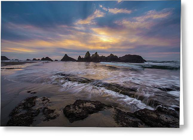 Incoming Tide 2 Greeting Card