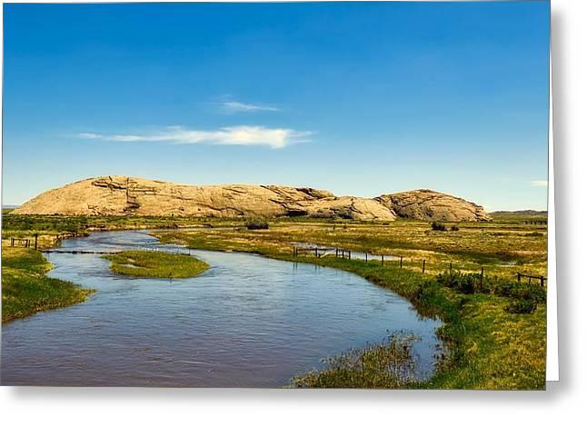 Independence Rock - Wyoming Greeting Card