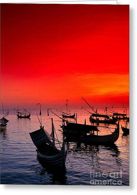 Indonesia, Bali Greeting Card by Gloria & Richard Maschmeyer - Printscapes