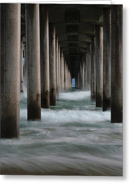 Greeting Card featuring the photograph Infinity by Edgars Erglis