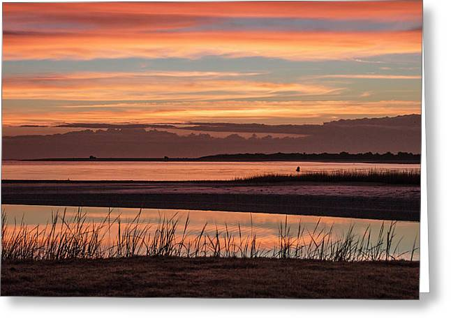 Inlet Watch Sunrise Greeting Card