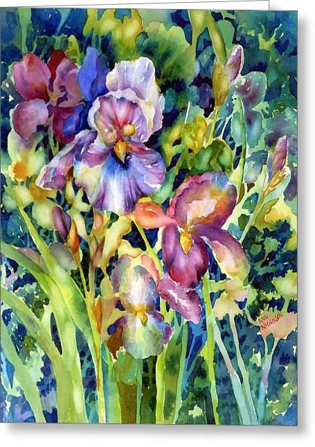 Iris II Greeting Card