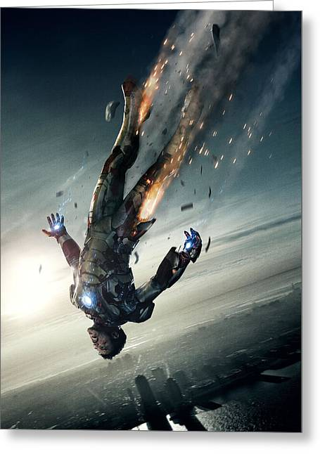 Iron Man 3 Greeting Card by Unknown