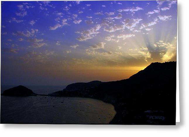 Greeting Card featuring the photograph Ischia Awakens by Patrick Witz