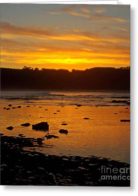 Island Sunset Greeting Card by Blair Stuart