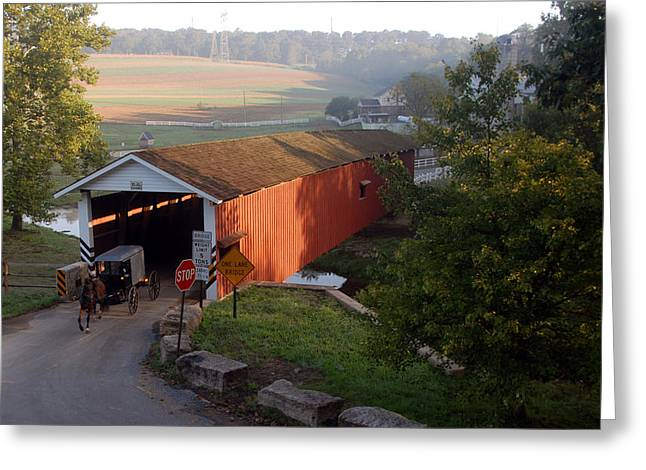 Jacksons Sawmill Covered Bridge Greeting Card