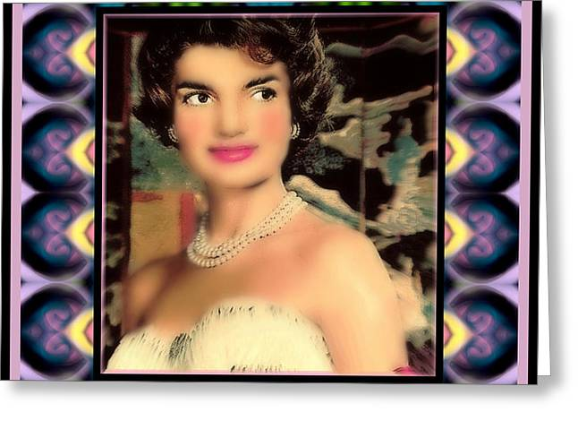 Jacqueline Greeting Card by Wbk