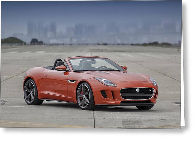 Jaguar F-type Convertible Greeting Card