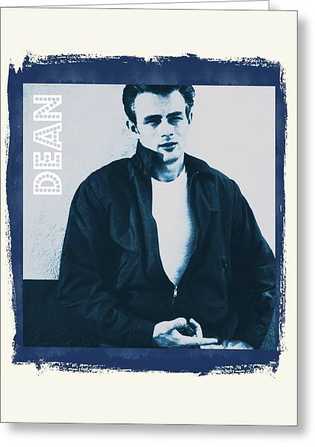James Dean Greeting Card by John Springfield