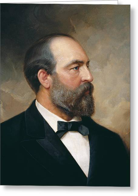 James Garfield Greeting Card