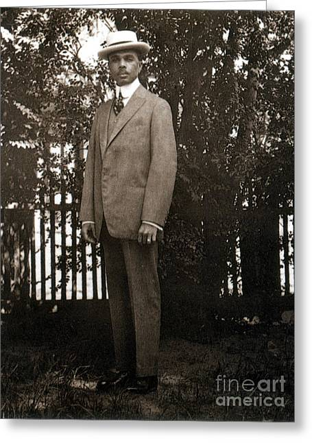 James Weldon Johnson, American Author Greeting Card by Science Source