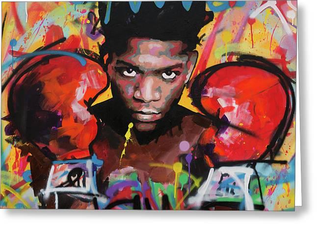 Jean Michel Basquiat Greeting Card