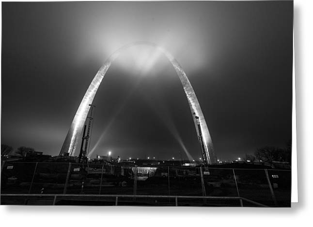 Jefferson Expansion Memorial Gateway Arch Greeting Card