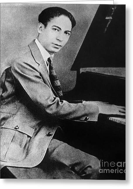 Jelly Roll Morton Greeting Card