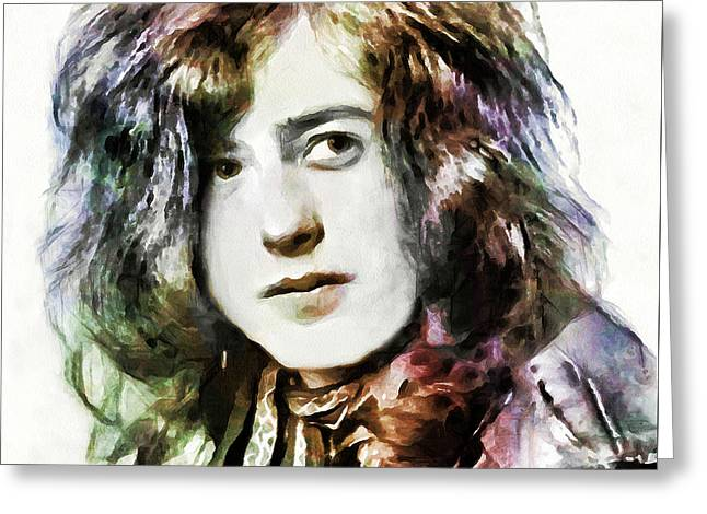 Jimmy Page Collection - 1 Greeting Card