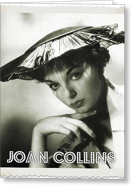 Joan Collins Greeting Card